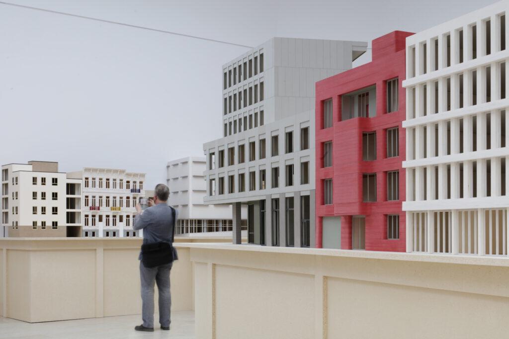 Composite Presence by Bovenbouw Belgian pavilion © Filip Dujardin