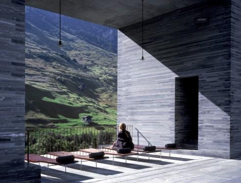 Serge brison wallonie bruxelles architectures - Thermes de vals zumthor ...