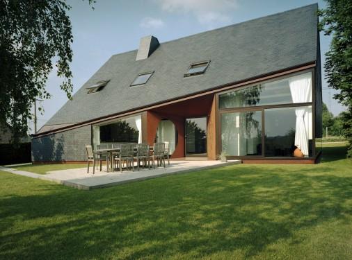 Nicolas bomal wallonie bruxelles architectures for Architecture maison en belgique