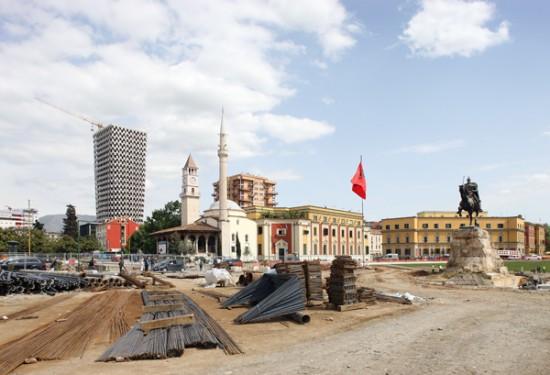 Skanderbeg Square et TID Tower - Projets par 51N4E