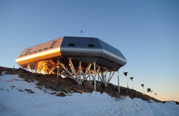 Station polaire Princesse Élisabeth Antarctique - International Polar Foundation (Alain Hubert, Nighat Amin, Johan Berte) + Samyn and Partners