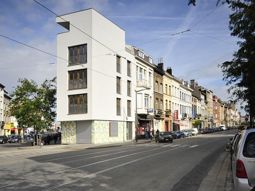 KARBON'- Logements sociaux à Schaerbeek