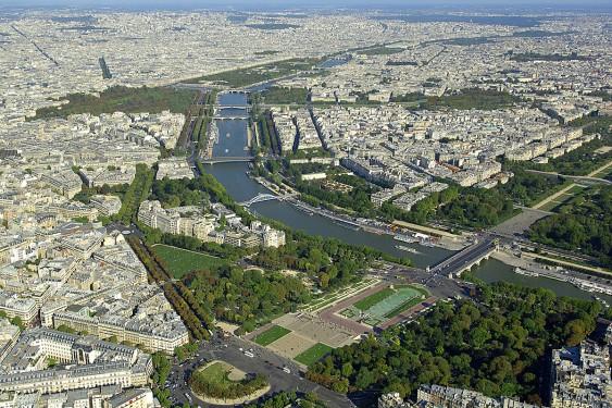 Vue de Paris - Baukunst