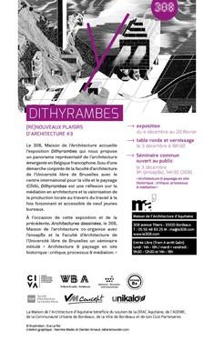 ReNouveaux Plaisirs d'Architecture #3 au 308 à Bordeaux