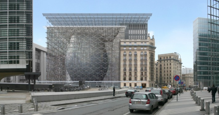 Conseil des Ministres, 2013 - Philippe Samyn and Partners architectes & engineers, Lead and Design a.m. Philippe Samyn and Partners, Studio Valle Progettazioni, Buro Happold Limited.