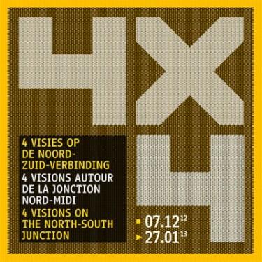 Exposition : 4X4 : 4  visions autour de la Jonction Nord-Midi