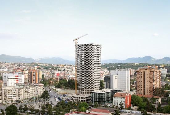 Tour TID et masterplan à Tirana, par 51N4E