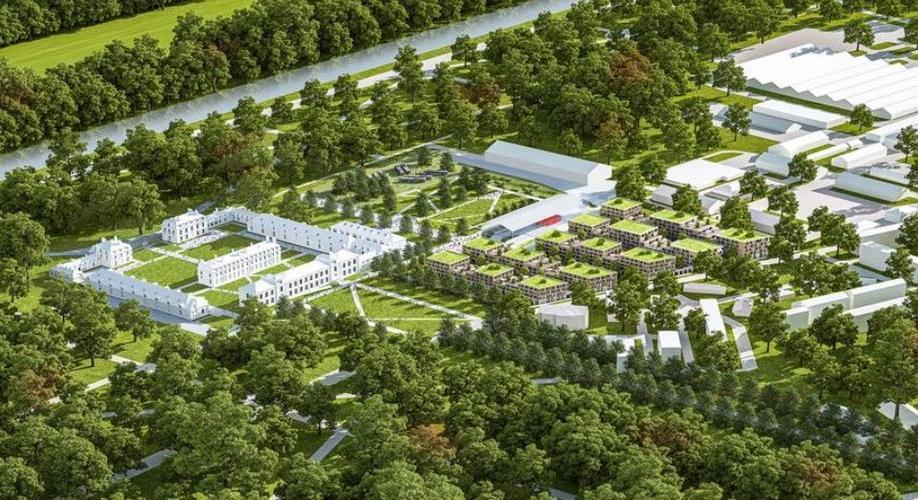 L'Agence Ma² : restauration des dépendances du Château de Fontainebleau