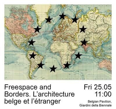 Table ronde : Freespace and Borders - Biennale de Venise