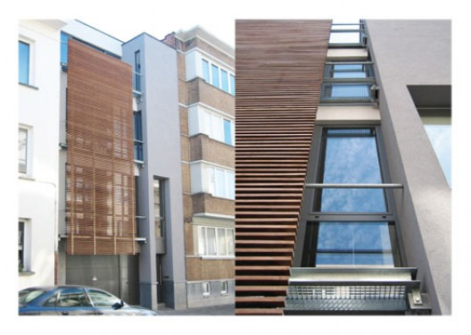 Bureau d'architectes Emmanuel Bouffioux sprl, Maison EB