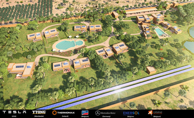 Créative Architecture: project in Morocco
