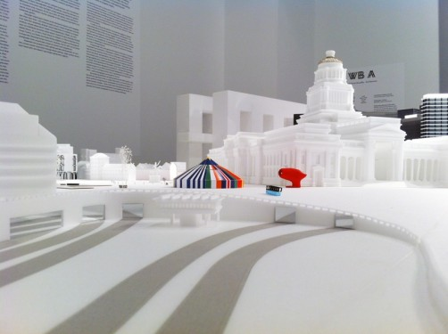 (Un)City – (Un)Real State of the (Un)Known. Model conceived and realized by WRKSHP & Paul Mouchet