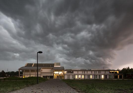 Pierre Hebbelinck: Halles Perret in Montataire (FR)