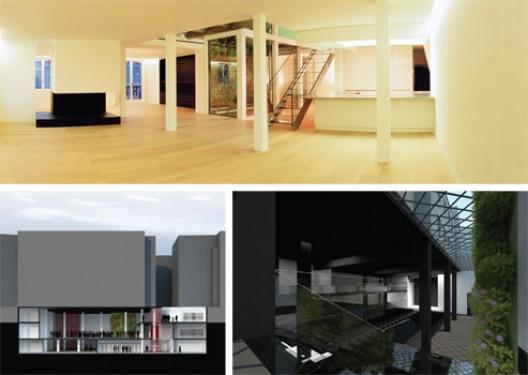 Frédéric Haesevoets Architecture SPRL, Duplex Rue du Louvre