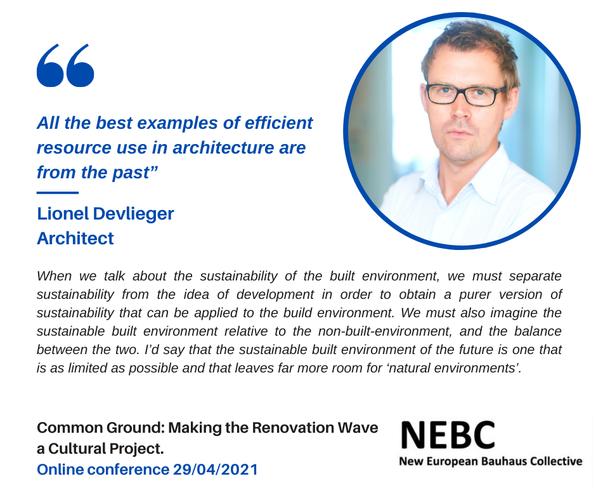 L. Devlieger (Rotor) : Conférence en ligne NEBC