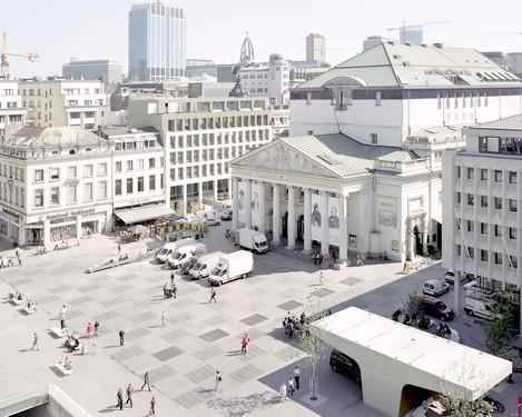 Place de la Monnaie, par MSA