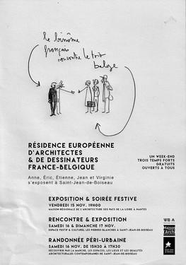 Restitution : Résidence internationale d'architectes – Nantes & Walcourt