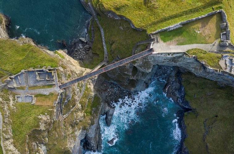 Ney&Partners : Prix pour la passerelle du chateau de Tintagel – UK