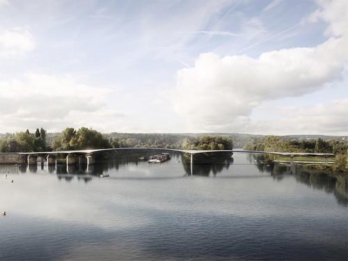 Ney & Partners : remporte le concours passerelle de la Seine à Poissy (FR)