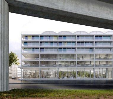 Baukunst: winner of a project at Paris-Saclay
