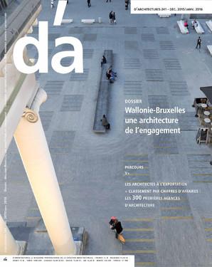 Cover d'a: Place de la Monnaie in Brussels