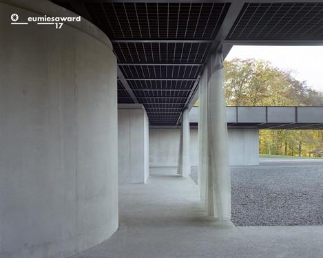 Infrastructure Polyvalente, Spa, 2012-2016, par BAUKUNST