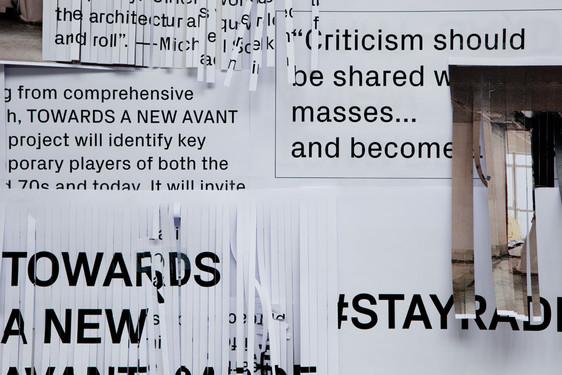 Towards a New Avant-Garde