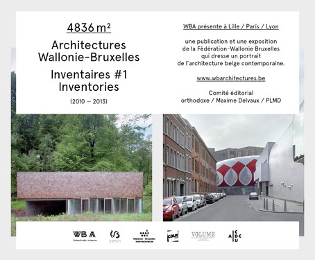 Exhibition 4836 m² and lecture by l'Escaut and V+ in Paris
