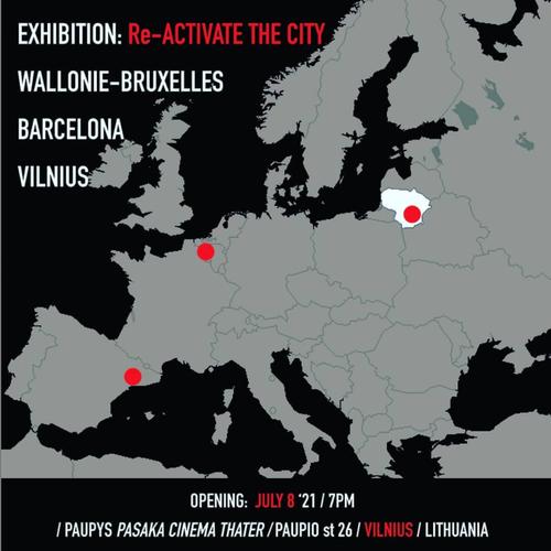 Exhibition Cities Connection in Vilnius