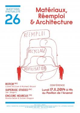 Rotor: Lecture Materials, re-use and architecture in Paris