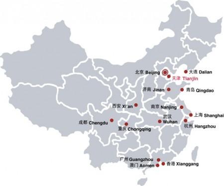 15 Alliances françaises en Chine