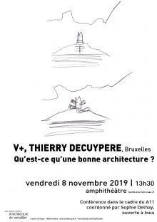 V+ : Conférence à Versailles