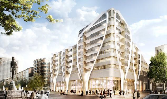 Le Toison d'Or (UNStudio / Jaspers-Eyers Architects) (Bruxelles)