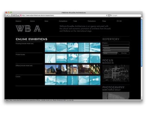 Lancement du site web de WBA