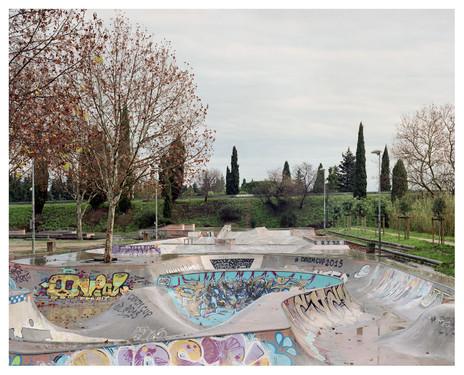 Skatepark, Nîmes, photographic commission by Villa Noailles
