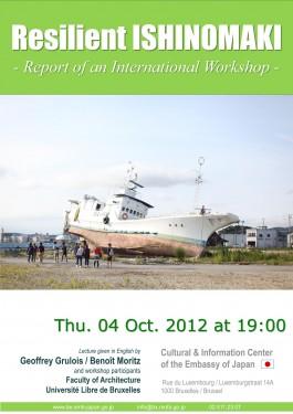 Resilient Ishinomaki : Conférence sur le Workshop International