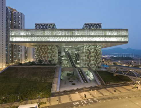 Hong Kong Design Institute par Isabel Van Haute & Nicolas Coldefy (Coldefy & Associates Architects)