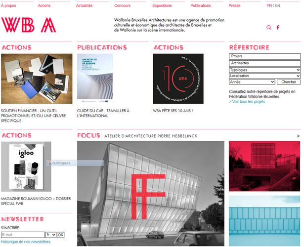 Redesign of WBA's website