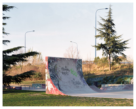 Skatepark, Toulouse, photographic commission by Villa Noailles