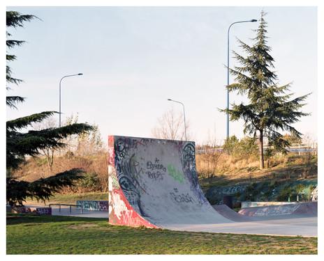Skatepark, Toulouse, photographic commission by Villa Noailles