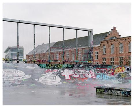 Skatepark Ursulines, Brussels, by l'Escaut