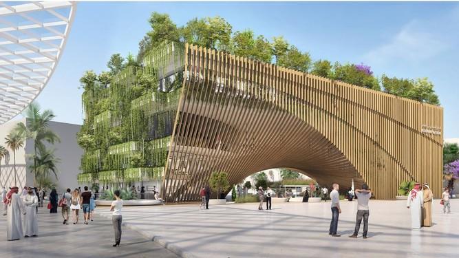 Callebaut & ASSAR: Belgian pavilion at Dubai