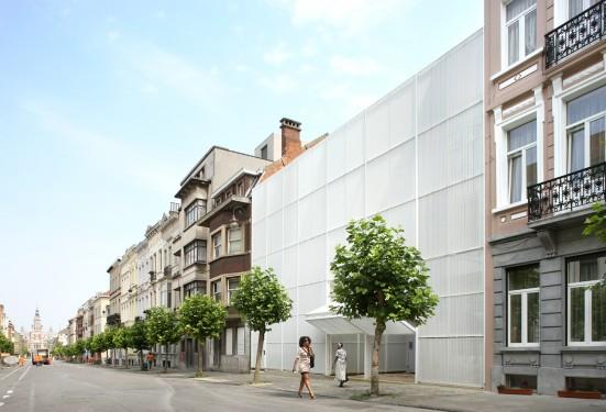 Royale sainte marie o2 architectes wallonie bruxelles for Architecte bruxelles