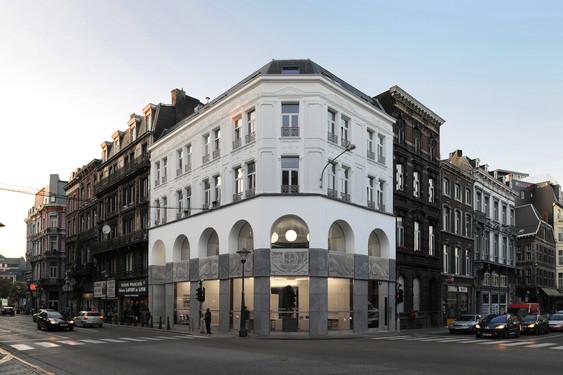Maison de l 39 habitat olivier fourneau architecte scprl for Architecte bruxelles
