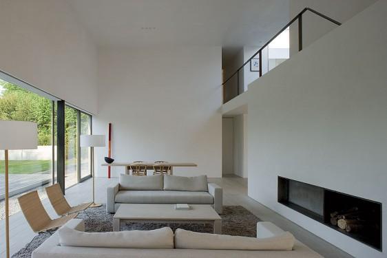 Les heures claires atelier d 39 architecture bruno erpicum for Interior casa minimalista