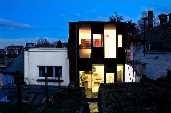 maison tartarini architecture n lis delinc wallonie bruxelles architectures. Black Bedroom Furniture Sets. Home Design Ideas