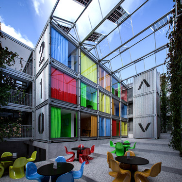Art 39 troc h tel atelier d architecture meunier westrade for Hotel design wallonie