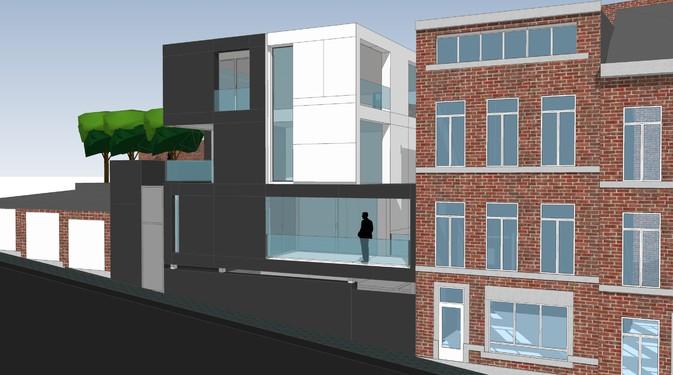 Immeuble passif p plan 9 bureau d 39 architectes sprl for Immeuble bureau plan