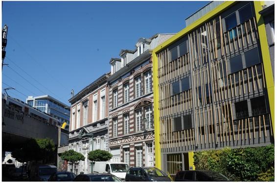 Terre neuve p p architectes wallonie bruxelles for Architecte bruxelles