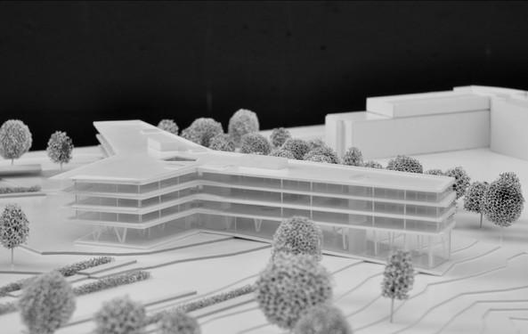 911 agc atelier d 39 architecture mathen meier associ s for Maquette d architecture